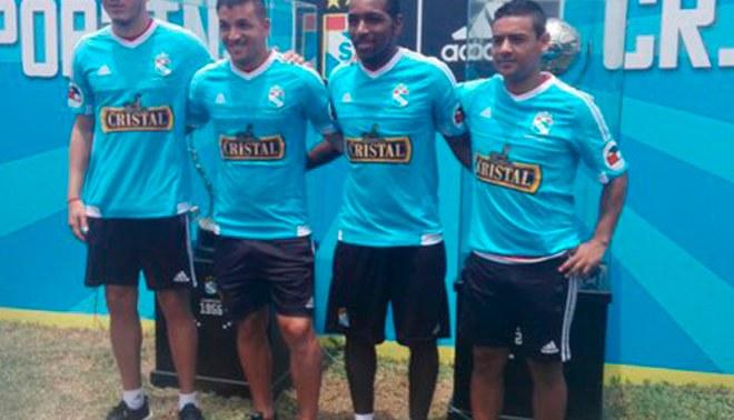 Sporting Cristal: elenco 'celeste' presentó a sus cuatro refuerzos