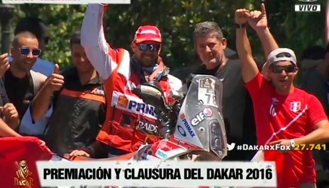 Rally Dakar 2016: Felipe Ríos es nuevamente el mejor peruano en motos [VIDEO/FOTOS]