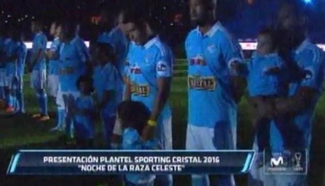 Sporting Cristal presentó a su plantel para la temporada 2016 [VIDEO]
