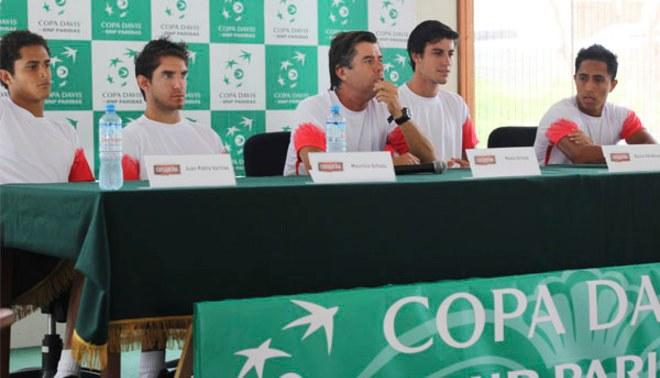 Copa Davis: Perú chocará ante Uruguay que vino sin Pablo Cuevas