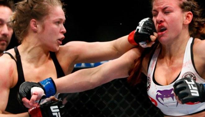 UFC: Ronda Rousey oficializada como la nueva retadora de Miesha Tate