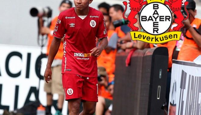 Universitario: Bayer Leverkusen confirmó oferta por Edison Flores