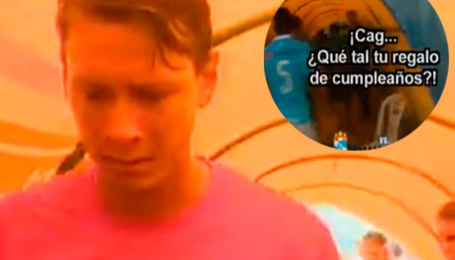 Diego Penny fue insultado por hinchas de Sporting Cristal y así reaccionó   VIDEO