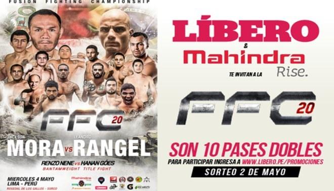 MMA: conoce a los ganadores que verán harto golpe hoy en el FFC 20