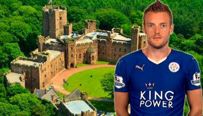 Leicester City: Jamie Vardy celebrará su boda en un ¡castillo! | FOTOS