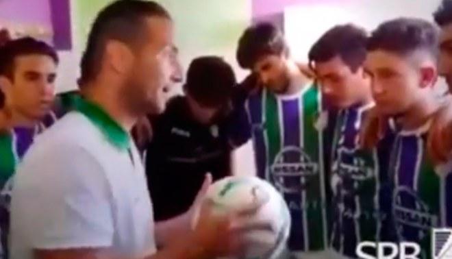 YouTube: entrenador motiva a sus jugadores y logra victoria contundente por 6-0 | VIDEO