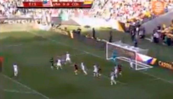 Colombia vs. EEUU: Cristian Zapata anotó así el primer gol de la Copa América  VIDEO