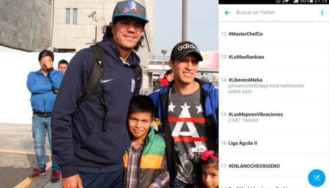 Óscar Vílchez: hinchas de Atlético Nacional de Colombia hicieron tendencia frase 'Liberen a Neka'