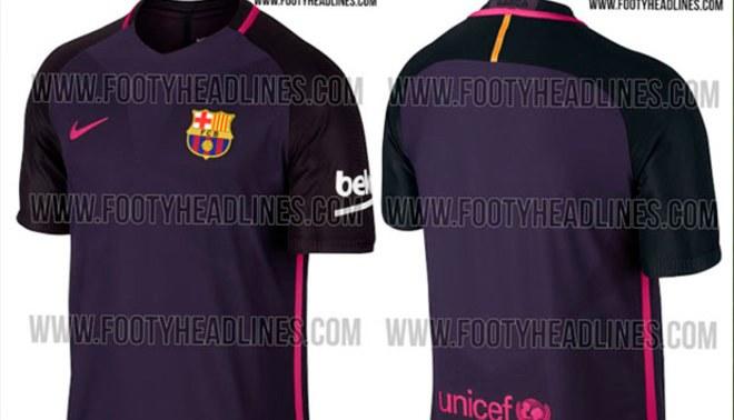 Barcelona  conoce la segunda camiseta del cuadro  azulgrana  para la  temporada 2016 17  ca9fcdb9832