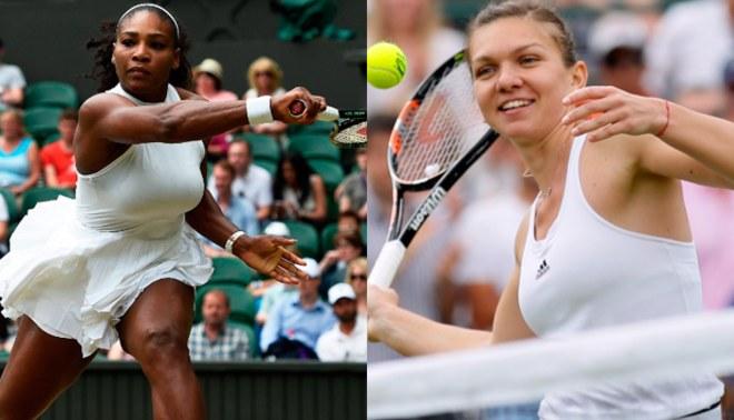 Wimbledon 2016: Serena Williams y Simona Halep, las estrellas de cuartos de final de Grand Slam |  DÍA 9