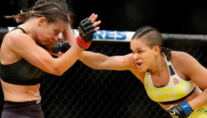 UFC 200: Amanda Nunes es la nueva campeona de peso gallo tras derrotar a Miesha Tate | FOTOS Y VIDEO