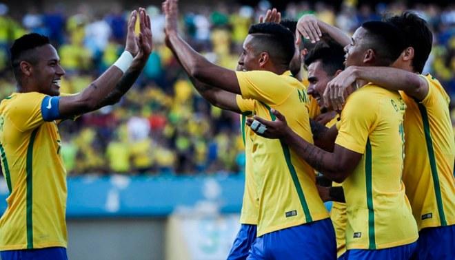 Brasil con Neymar venció 2-0 a Japón y quedó listo para el debut en los Juegos Olímpicos de Río  VIDEO