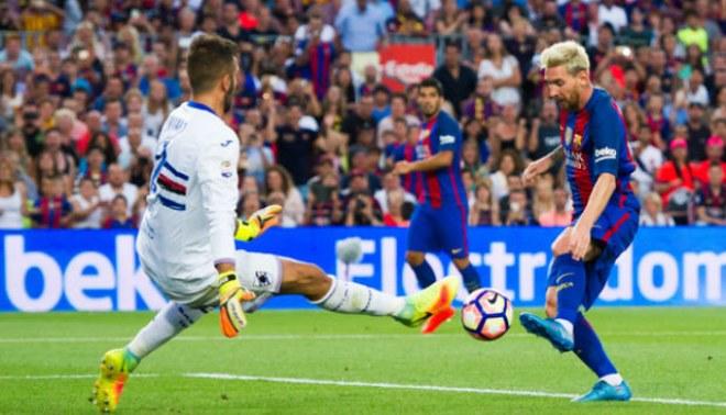 Barcelona vs Sampdoria: revive el triunfo catalán con goles de Messi y Suárez   VIDEO