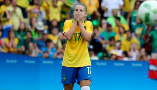 Fútbol femenino: Brasil eliminado en semifinales a manos de Suecia