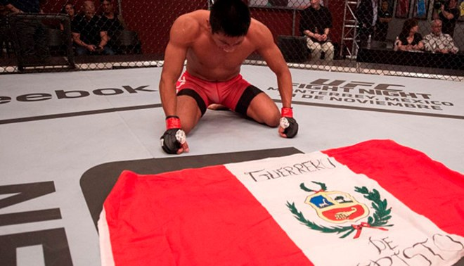 UFC: Enrique Barzola peleó hasta el final pero no pudo ganar al estadounidense Kyle Bochniak