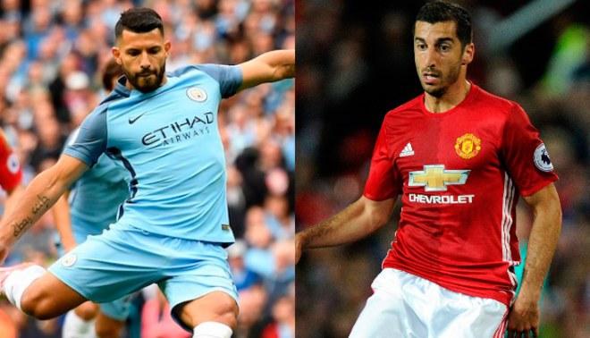 Manchester United vs. Manchester City: Agüero, Mkhitaryan y posibles cracks que no jugarán en Premier League