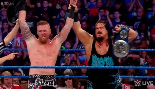 WWE SmackDown: Heath Slater se convirtió en el nuevo integrante de la compañía | VIDEO