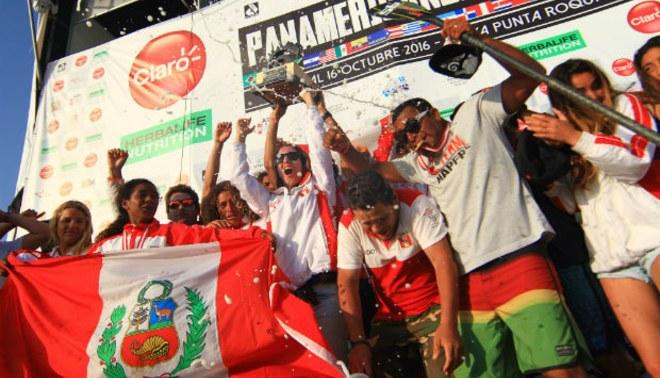 Perú se llevó los XII Juegos Panamericanos de Surf en Punta Roquitas