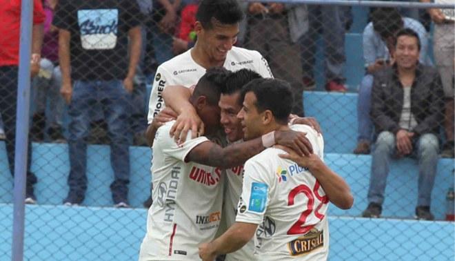 Universitario: Hernán Rengifo es el goleador merengue