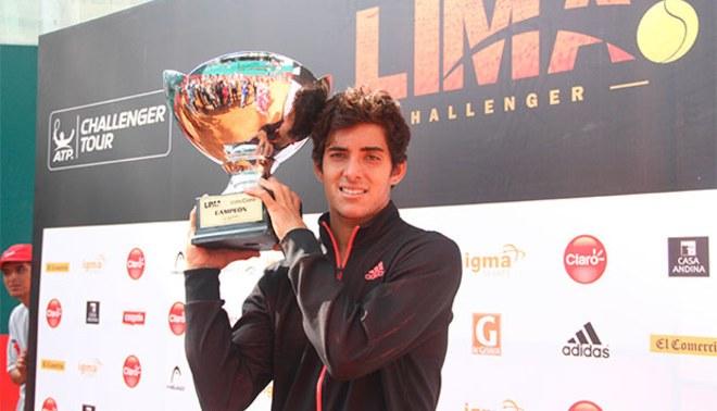 Lima Challenger Copa Claro 2016: chileno Christian Garín campeón en singles