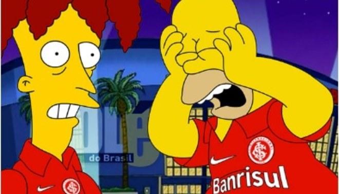 Inter de Porto Alegre: 'Los Simpsons' también predijeron el descenso del campeón de Copa Libertadores