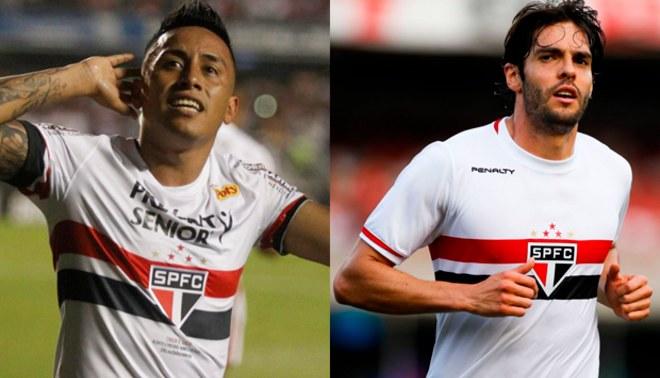 Brasileirao: Christian Cueva podría hacer dupla con Kaká en Sao Paulo | FOTO