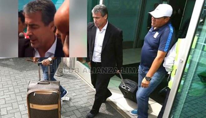 Alianza Lima: Pablo Bengoechea llegó a Lima y cuando la prensa buscaba sus palabras sucedió esto |VIDEO