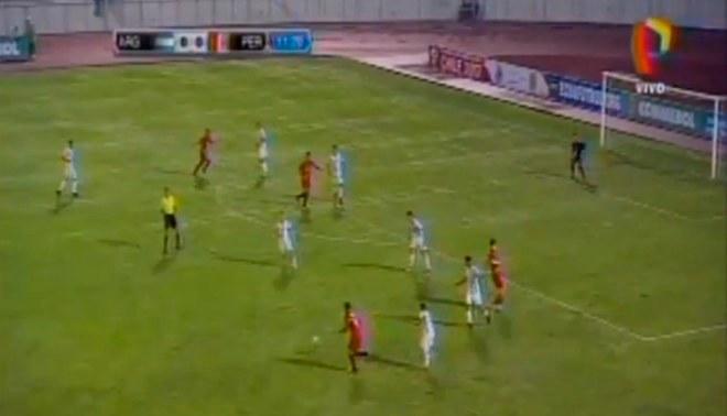 Perú vs. Argentina: Roberto Siucho hizo jugadaza para marcar gol ante 'albicelestes' |VIDEO