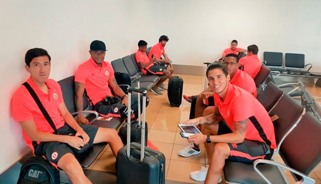 Universitario anuncia nuevo vuelo con destino a Paraguay para jugar Copa Libertadores