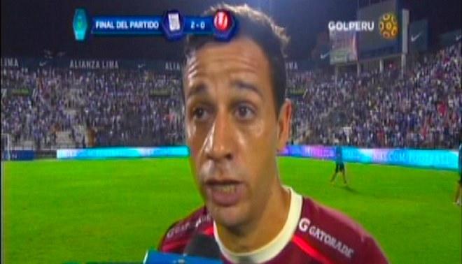 """Diego Guastavino: """"Siento vergüenza por lo mal que jugamos y planteamos el partido"""""""