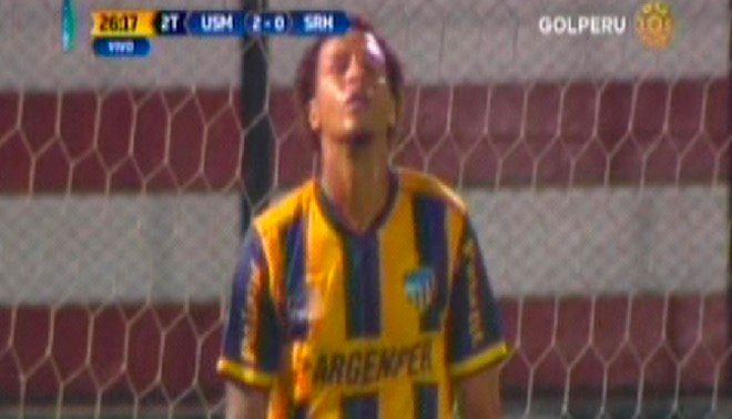 San Martín vs. Sport Rosario: Jesús Rabanal y el palo que le negó ser el goleador del Torneo de Verano | VIDEO