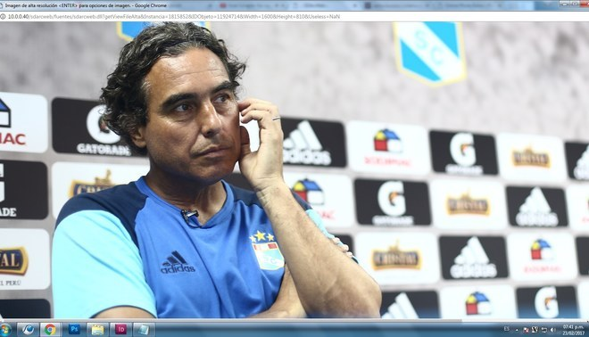 """Sporting Cristal: """"Chemo"""" ya no tiene la misma resistencia de los hinchas celestes"""