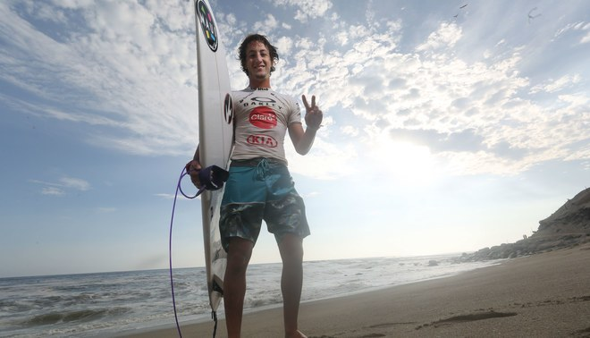 Surfistas nacionales arrasaron en la Triple Corona