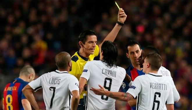 Champions League: el increíble insulto que le lanzó el árbitro Deniz Aytekin a   los jugadores del PSG