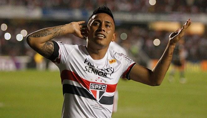 Christian Cueva fue elegido como el mejor jugador del fútbol brasileño 11209784b2f