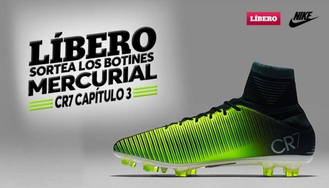 Líbero y Nike te regalan los nuevos botines Mercurial CR7 Capítulo 3 fa89ab1eb401e