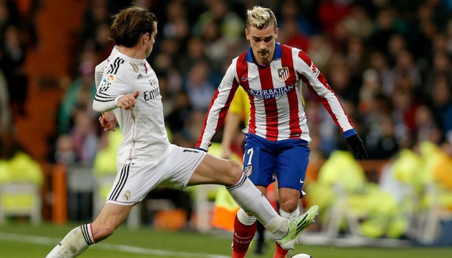 Real Madrid vs. Atlético de Madrid: Bale y Griezmann sostendrán especial duelo de velocidad