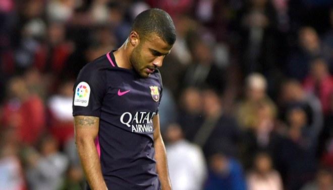 Barcelona: Rafinha se pierde lo que resta de temporada