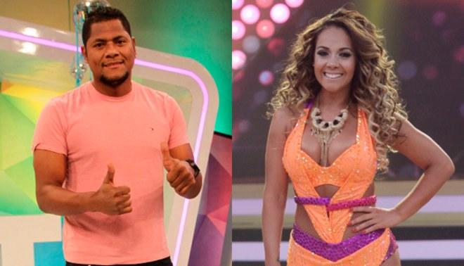 YouTube: Dorita Orbegoso trollea a Juan 'Chiquito' Flores por su reacción frente a bailarinas [VIDEO]