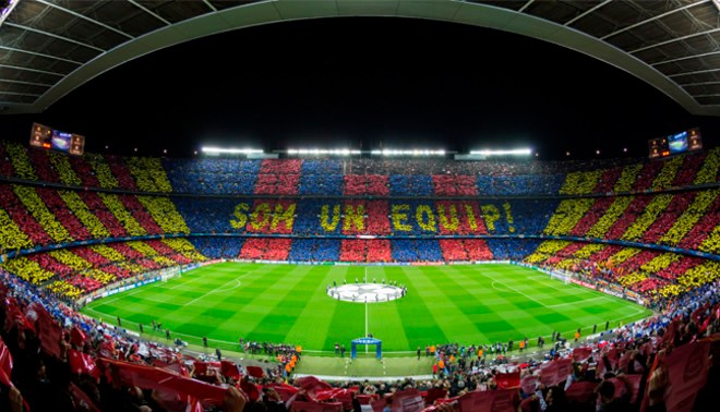 Barcelona vs. Juventus  Así lucirá el Camp Nou este miércoles en la Champions  League  FOTOS  5b52caa22d9