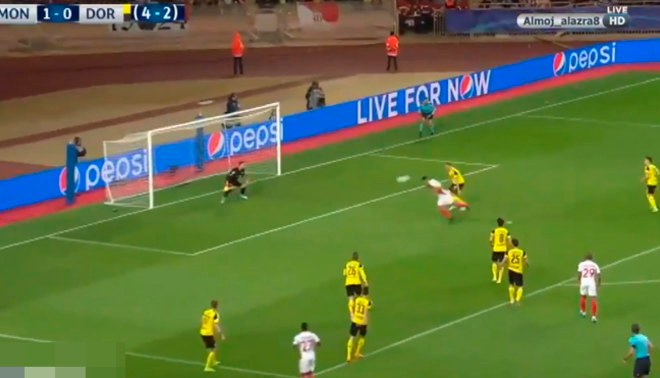 Borussia Dortmund vs. Monaco: Revive la espectacular palomita de Radamel Falcao en la Champions League [VIDEO]