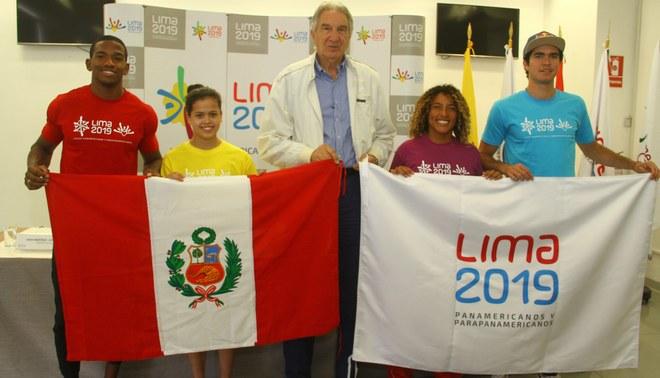Lima 2019 presentó a sus primeros Embajadores Deportivos