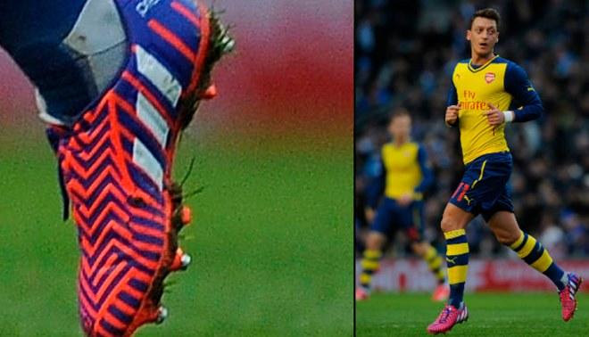 Mesut Özil se inspiró en mítico exjugador para lucir botines de esta marca