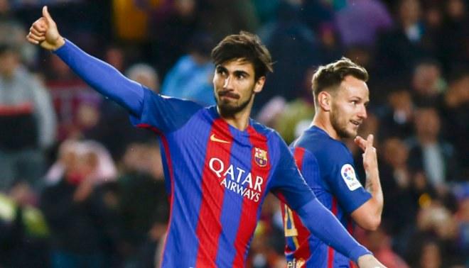 Real Madrid analiza la compra de André Gomes, quien no continuaría en el Barcelona