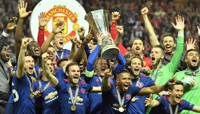 Manchester United: así fue la celebración tras ganar su primera Europa League