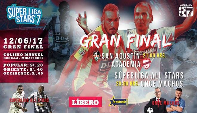 La Academia y San Agustín disputarán el título de la Super Liga Stars 7