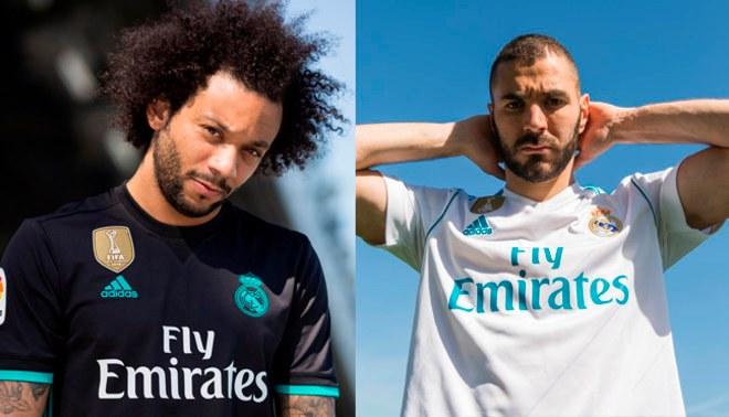 Real Madrid presentó oficialmente su nueva camiseta para la temporada 2017-2018   VIDEO  abb301766b7cc