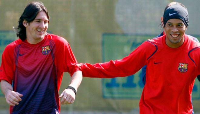 Ronaldinho y su tremendo mensaja a Lionel Messi por su cumpleaños