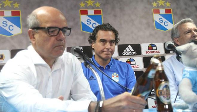 Sporting Cristal hizo oficial la salida de su entrenador José 'Chemo' Del Solar