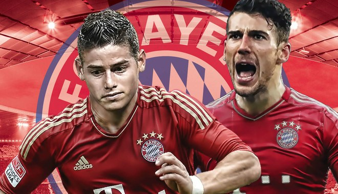 Bayern Múnich cerca de fichar a James Rodríguez y Leon Goretzka